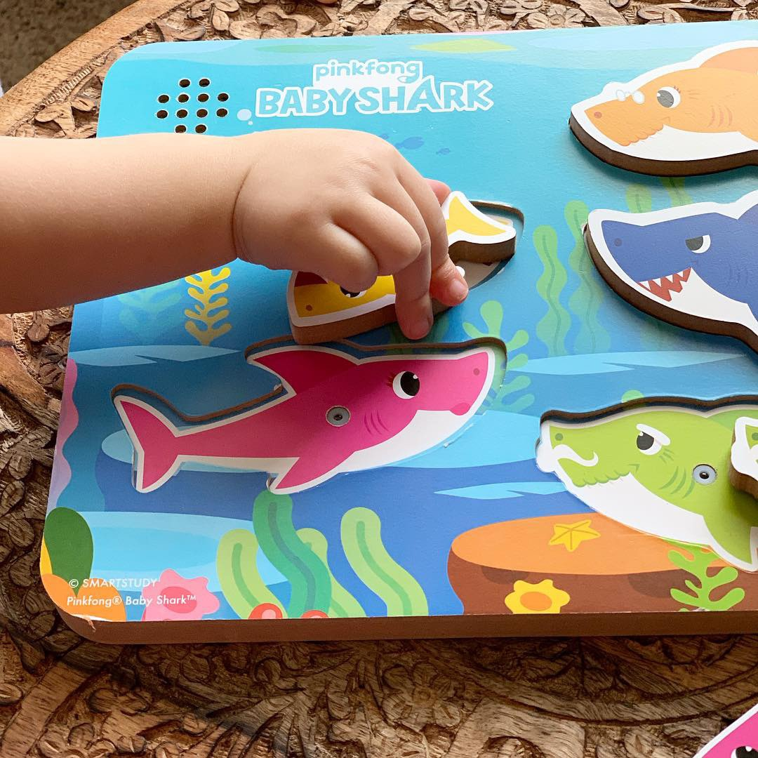 baby shark puzzle birthday gift